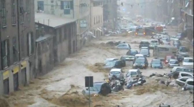 Rischio idrogeologico: sconfortante inchiesta di Legambiente sui Comuni: 7.5 mln di cittadini in pericolo quotidiano